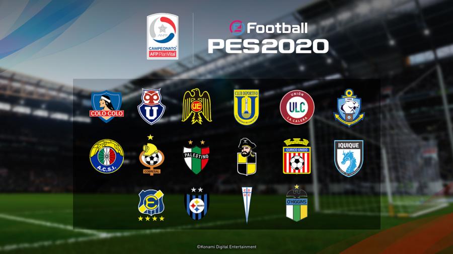 KONAMI anuncia patrocínios com os clubes de futebol chilenos Colo‑Colo e Universidad de Chile