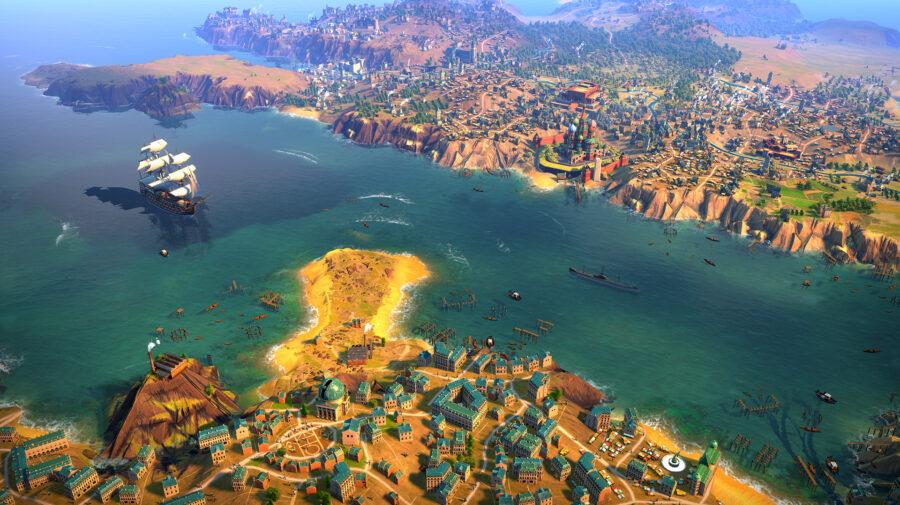 Sega anuncia Humankind, novo jogo de estratégia com civilizações