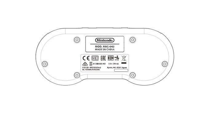 Registro revela controle sem fio do SNES para o Nintendo Switch