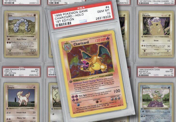 Coleção com 103 cartas raras de Pokémon é leiloada por quase R$ 430 mil