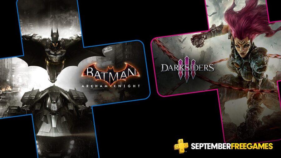 Batman: Arkham Knight e Darksiders 3 são os jogos gratuitos da PS Plus em setembro