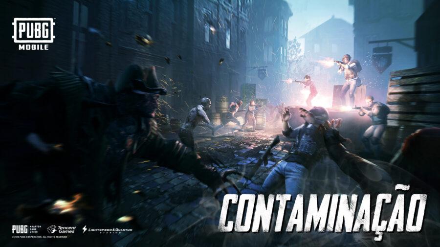 Modo Contaminação leva ameaça dos mortos-vivos ao deathmatch de PUBG MOBILE