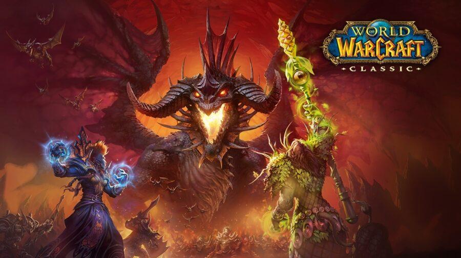 Jogador atinge nível máximo em World of Warcraft Classic