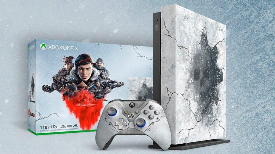 Microsoft anuncia Xbox One X temático de Gears 5
