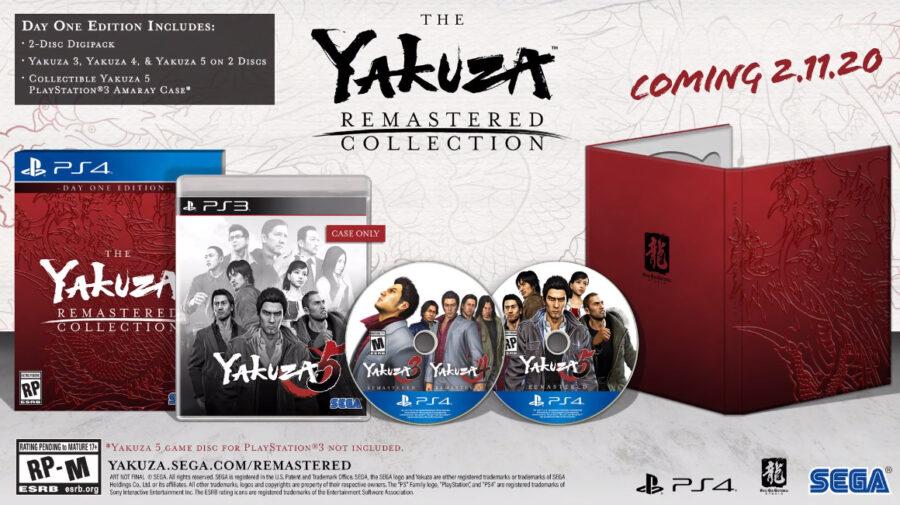 Sega anuncia coleção remasterizada de Yakuza para PS4