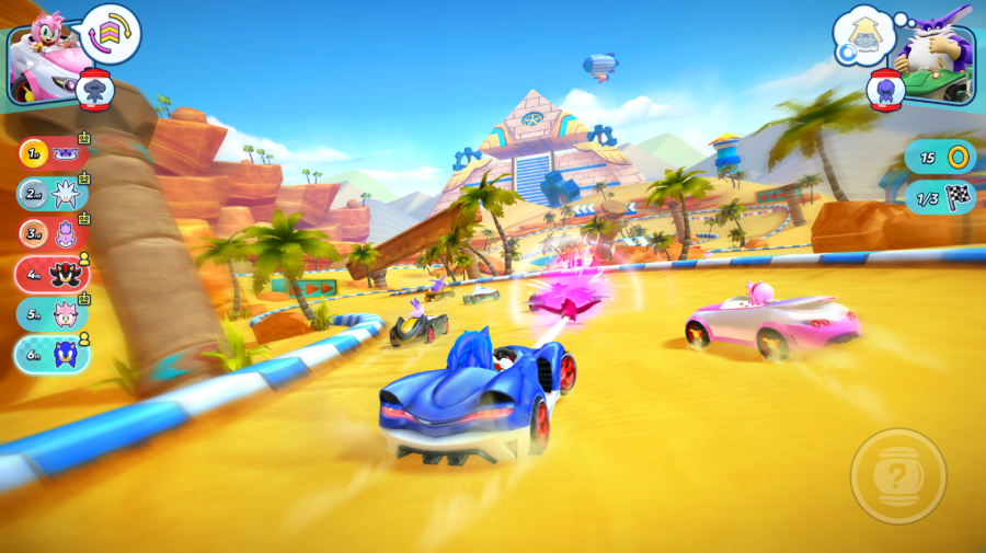 Sonic Racing e ChuChu Rocket! Universe foram lançados para Apple Arcade