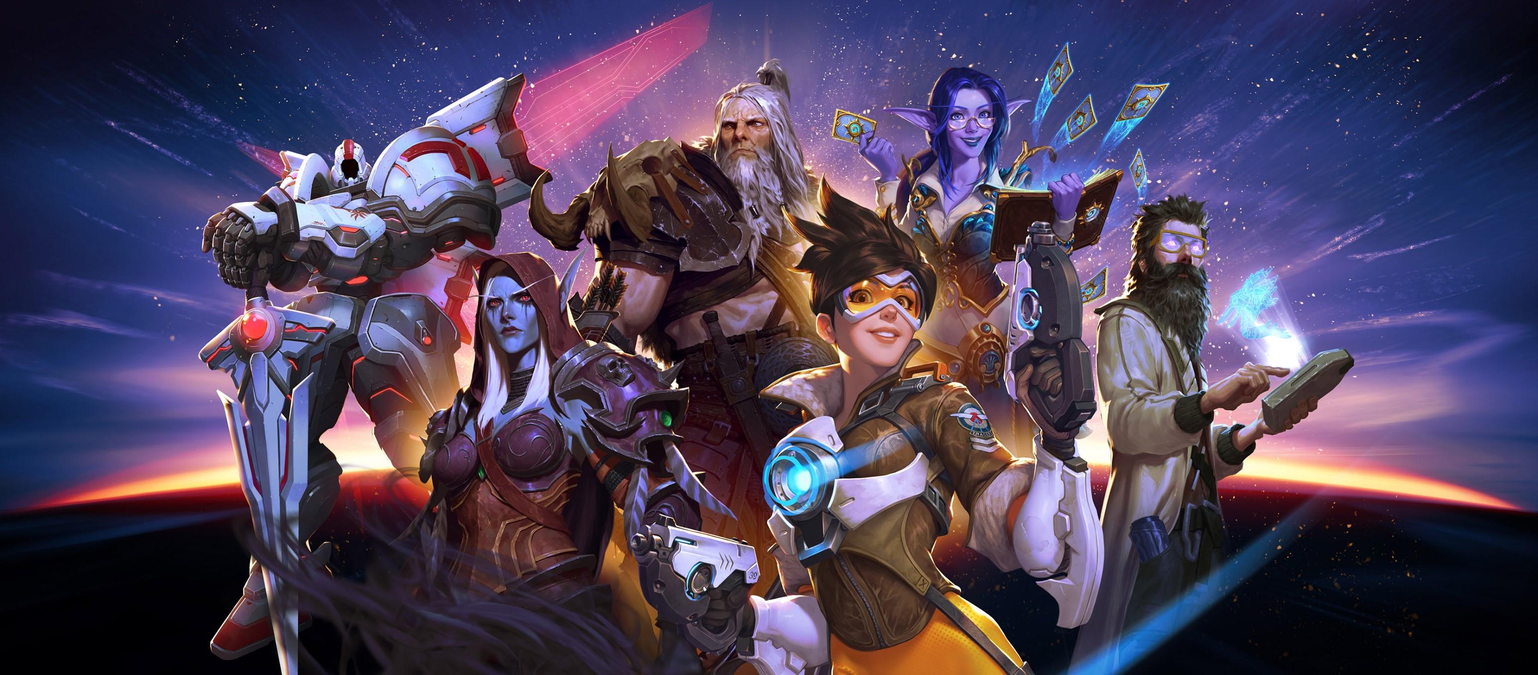 Jogos da Blizzard. Imagem: Divulgação