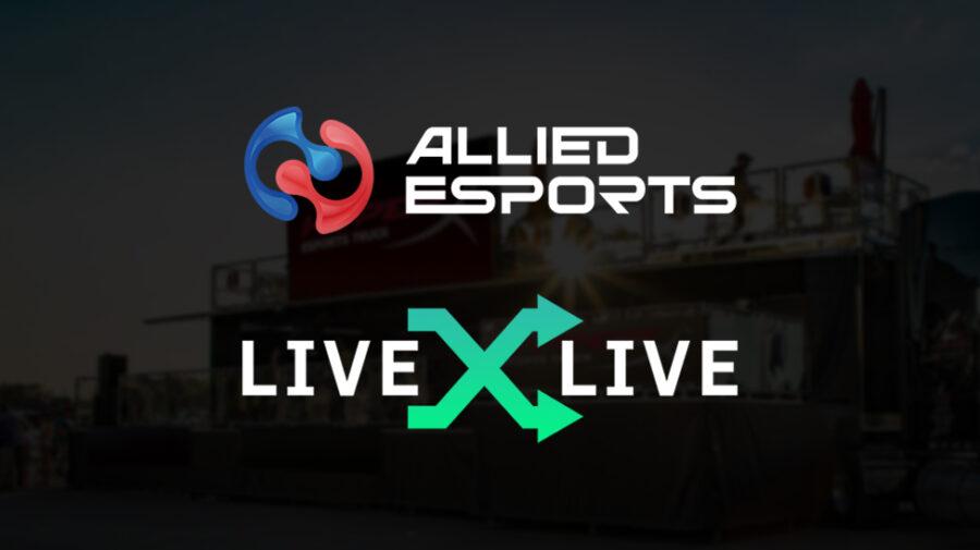 Allied Esports anuncia parceria com a LiveXLive Media