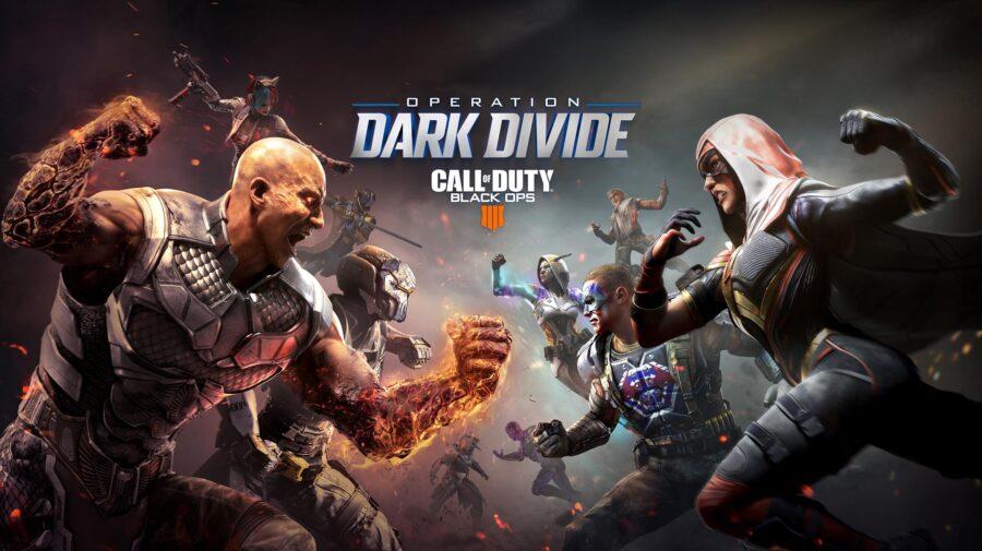 """Call of Duty: Black Ops 4 anuncia novos conteúdos de temporada com """"Operação Divisão Sombria"""""""