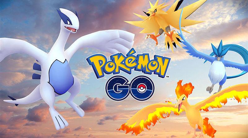 Confira as datas das aparições lendárias de setembro em Pokémon Go