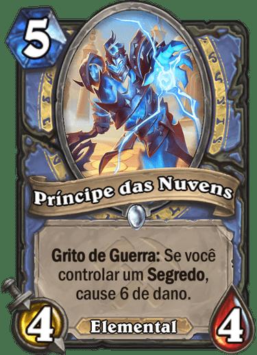 Príncipe das Nuvens. Imagem: Divulgação