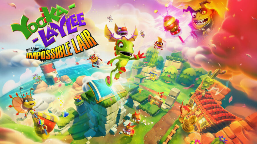 Yooka-Laylee and the Impossible Lair chega para consoles e PC em outubro