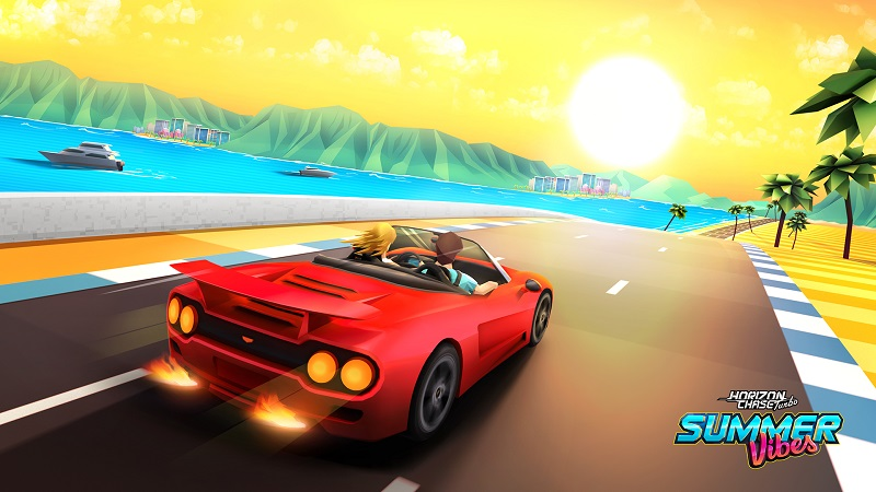 Summer Vibes, o primeiro DLC de Horizon Chase Turbo, já está disponível