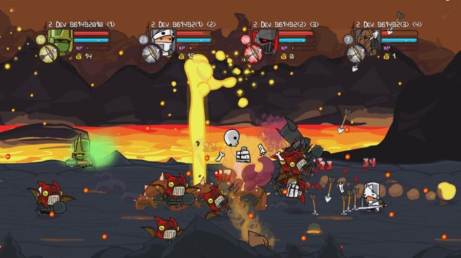 Castle Crashers Remastered chega ao PS4 e Switch em 17 de setembro