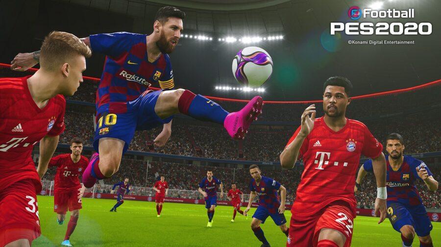 eFootball PES 2020 já está disponível