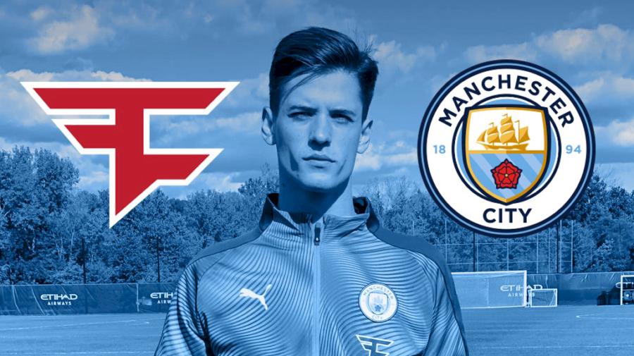 Manchester City anuncia parceria com a FaZe Clan