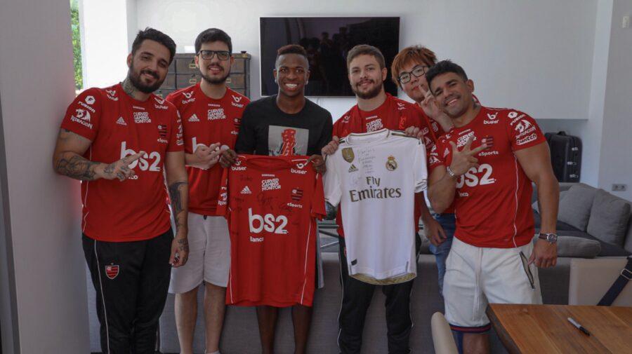 LoL: Flamengo eSports visita casa de Vinícius Júnior durante o bootcamp na Madri