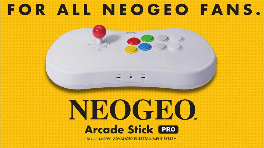 SNK anuncia NeoGeo Arcade Stick Pro com 20 jogos instalados