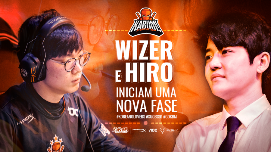 League of Legends: KaBuM! e-Sports anuncia saídas de Wizer e Hiro