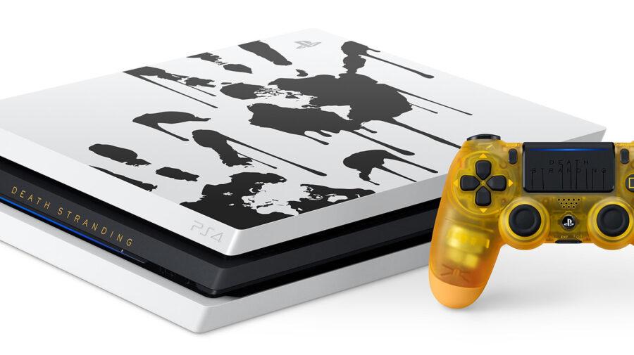 Sony revela novo bundle de PS4 Pro com tema de Death Stranding