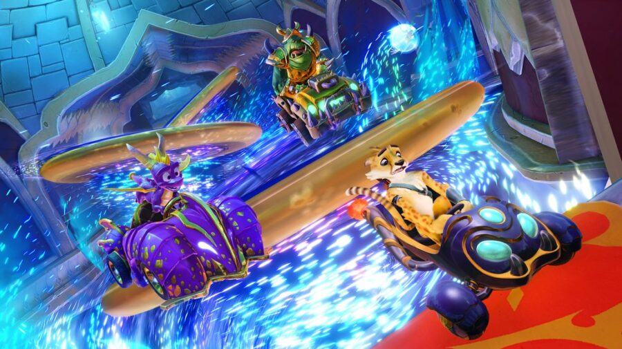 Spyro chega ao Crash Team Racing Nitro-Fueled