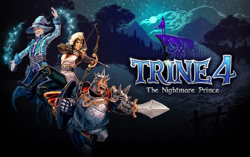 Trailer de Trine 4 mostra a Magia Negra de um príncipe assolando o Reino
