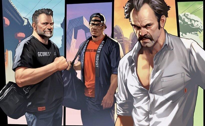 GTA V: Trevor, Franklin e Michael estarão na BGS 2019
