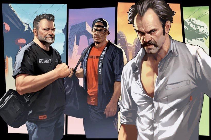 GTA V: Trevor, Franklin e Michael estarão na BGS 2019
