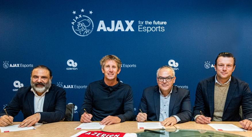 Ajax eSports anuncia parceria mobile com a Azerion