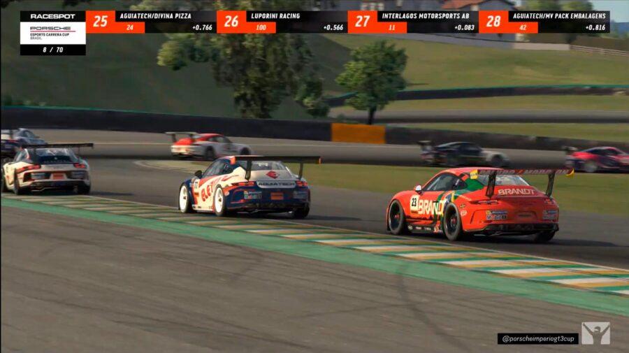 Segunda etapa do Porsche eSports Carrera Cup Brasil acontece neste sábado em Spa-Francorchamps