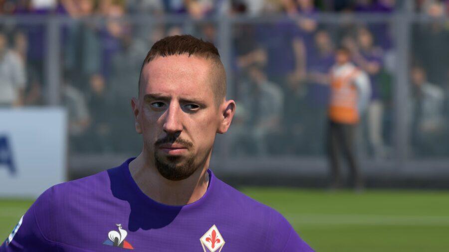 Após reclamação, Franck Ribéry e outros craques recebem atualização no rosto em FIFA 20