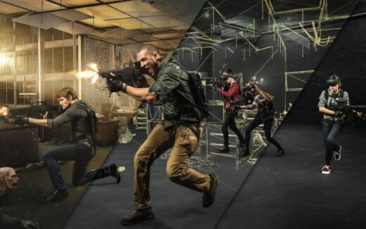 Gravity VR é a arena multiplayer em São Paulo