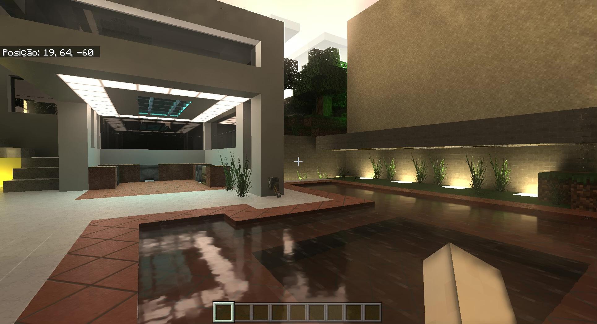Minecraft RTX. Imagem: Divulgação