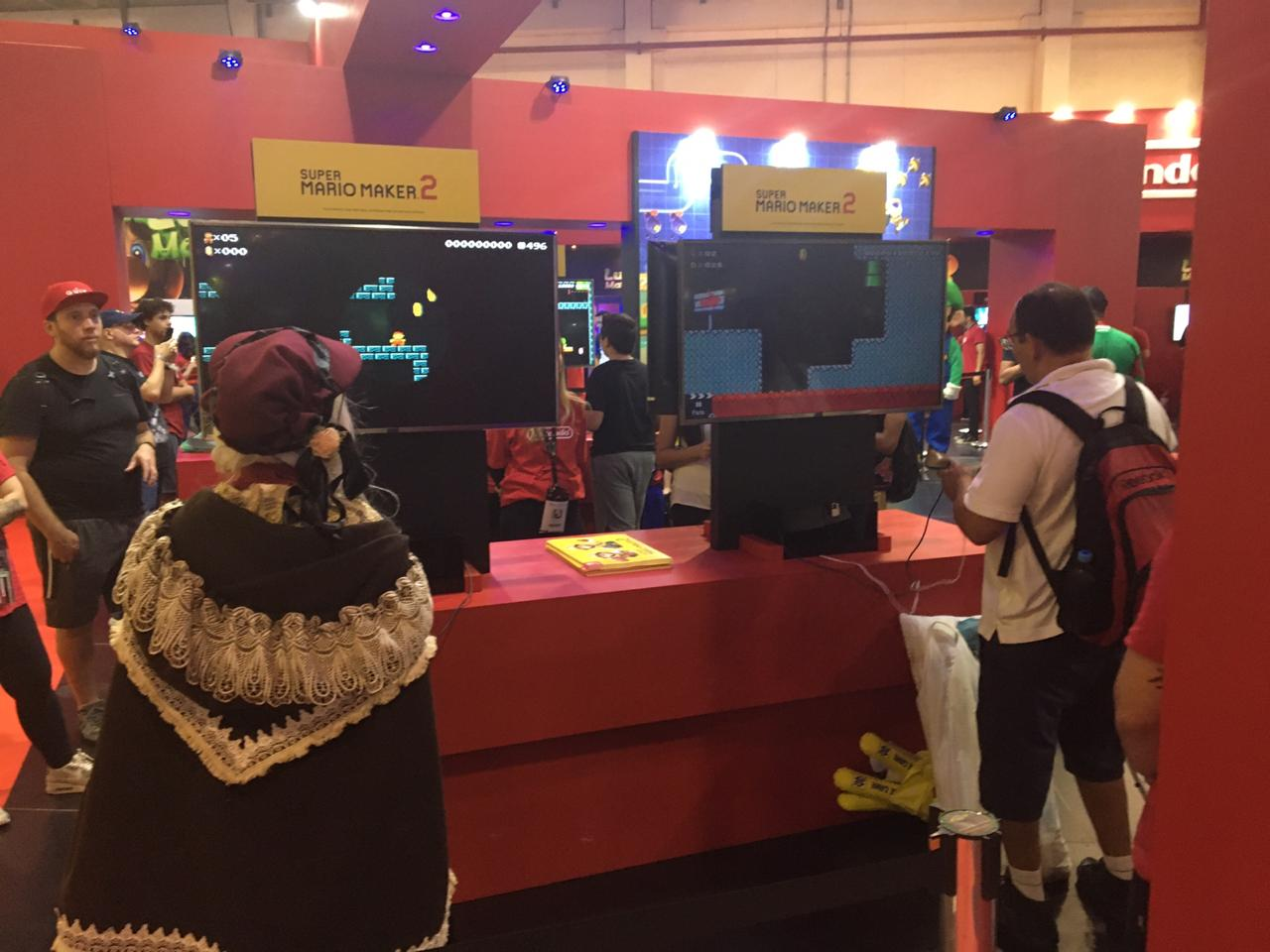Super Mario Maker 2 esteve disponível para jogar na BGS 2019
