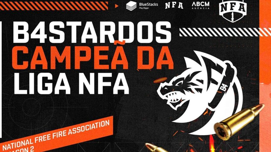 Free Fire: B4STARDOS conquista o título da 2ª temporada da Liga NFA