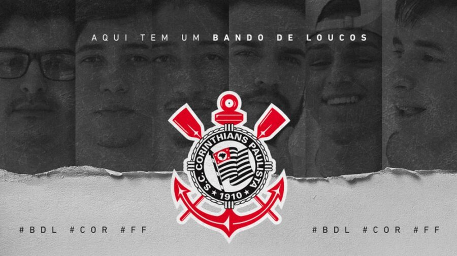 Free Fire: Corinthians retorna ao cenário de esports com time ex-Bando De Loucos