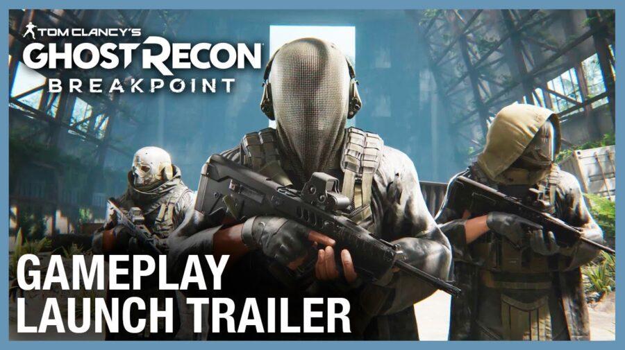 Confira o trailer de lançamento do Ghost Recon Breakpoint