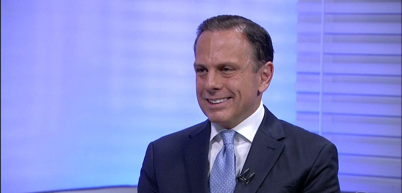 João Doria, governador de SP - Divulgação