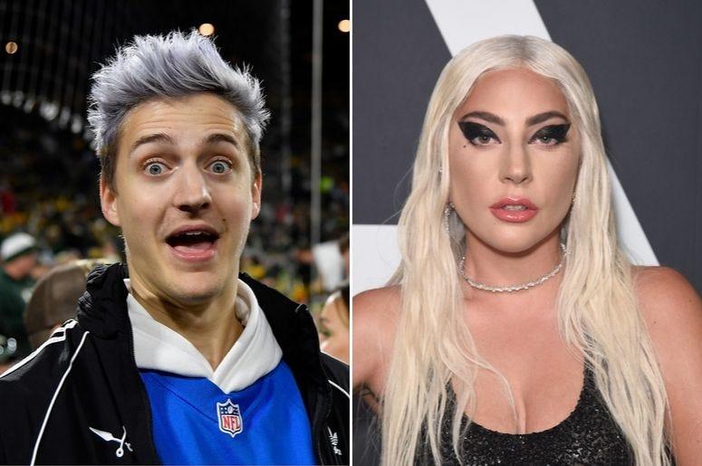 """""""Quem é você?"""", pergunta Lady Gaga para o popular streamer Ninja"""