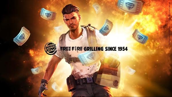 Burger King e Free Fire anunciam parceria inédita no Brasil