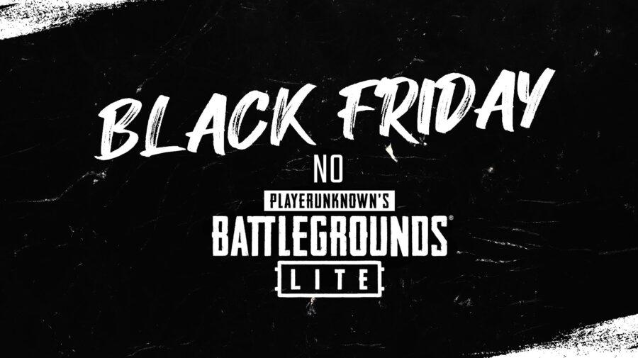 Black Friday chega ao PUBG LITE com 10 dias de descontos