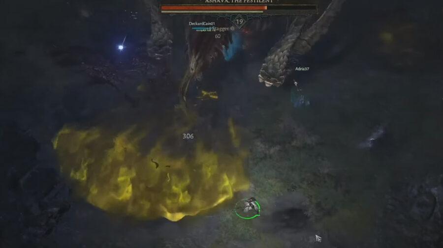 Novo vídeo de Diablo 4 mostra batalha contra chefão