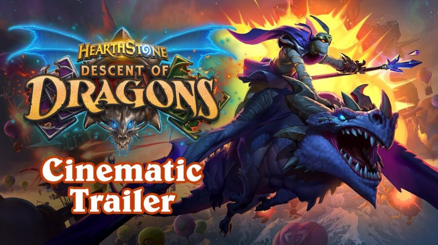 BlizzCon 2019 - Expansão Hearthstone: Descents of Dragons é anunciada