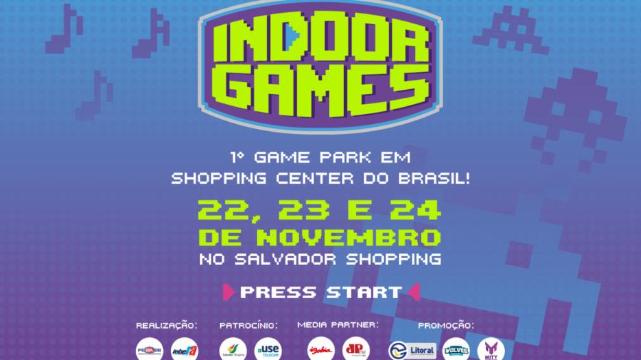 """Entrevista: responsável pelo Indoor Games, Tiago Copello debate sobre o primeiro Game Park da Bahia: """"Vai ser o marco dos eventos em Salvador"""""""