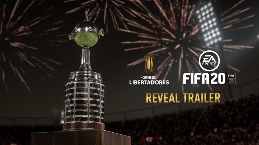 CONMEBOL Libertadores chegará ao FIFA 20 em março de 2020