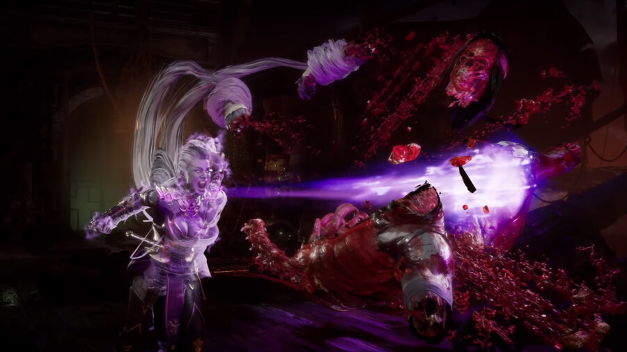 Mortal Kombat 11 revela trailer gameplay de Sindel