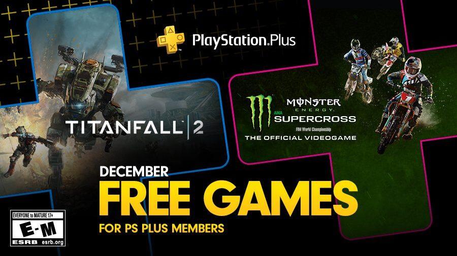 Titanfall 2 e Monster Energy Supercross são os jogos gratuitos da PS Plus de dezembro