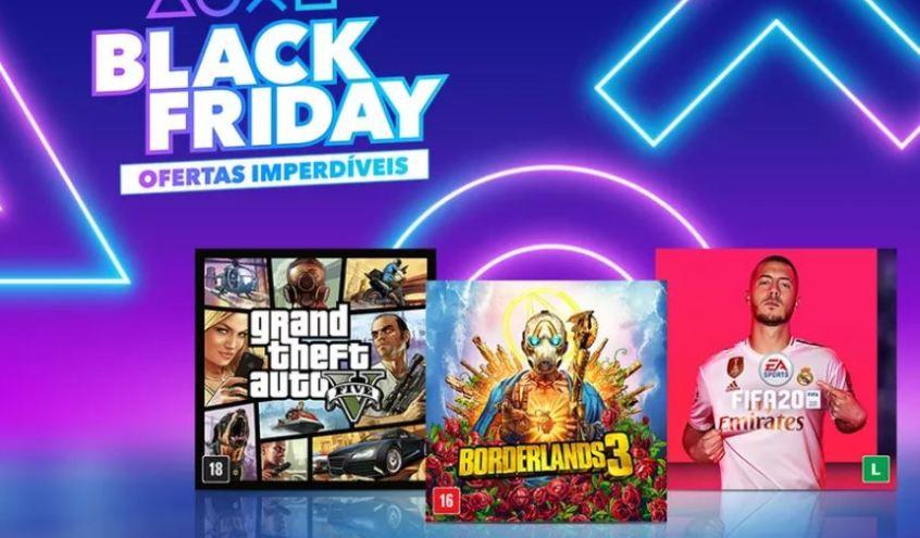 Sony lança Promoção Black Friday na PS Store
