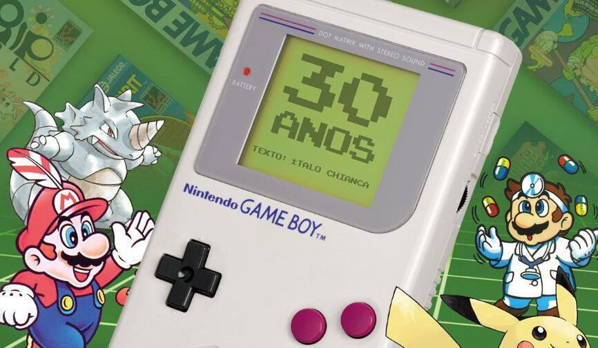 Revista Jogo Véio homenageia os 30 anos do Game Boy