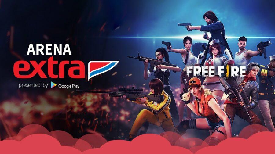 Arena Extra em Curitiba contou com as equipes de Free Fire INTZ e Corinthians, além de várias outras atrações